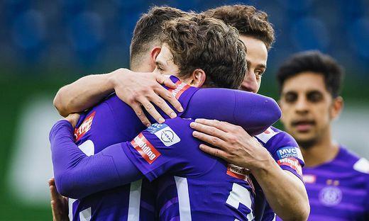 FUSSBALL: TIPICO BUNDESLIGA / QUALIFIKATIONSGRUPPE: SKN ST. POeLTEN - FK AUSTRIA WIEN