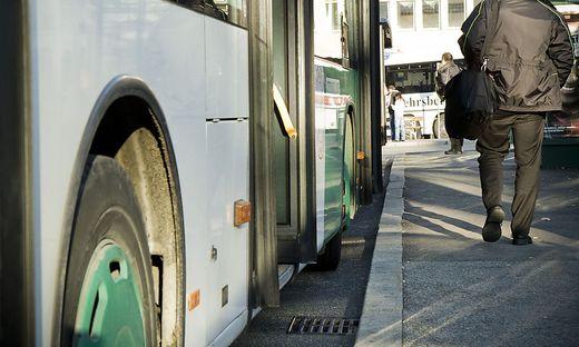 Bus der Graz Linien (Sujet)