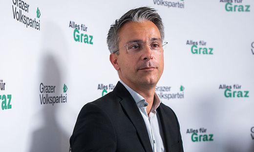 """Will eine """"kantige Oppositionspolitik"""" machen: Der designierte Chef der Grazer ÖVP, Kurt Hohensinner"""