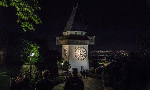 Beliebter Treffpunkt in der Silvesternacht: Der Schloßberg