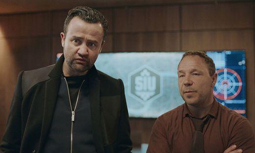 """Originelles Duo: Daniel Mays und Stephen Graham in """"Code 404"""""""