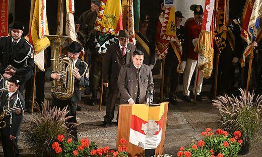 10. Oktober-feier im Schloss Porcia