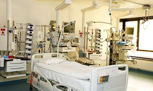 Intensivbett im Klinikum Klagenfurt: eine Million Betriebskosten pro Jahr