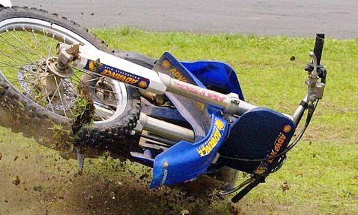 Der Motorradfahrer wurde schwer verletzt
