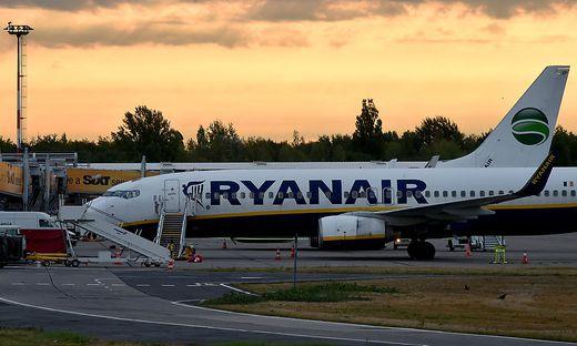 Streik Ryanair - Schoenefeld