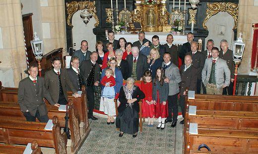 Die Feier in der Kirche