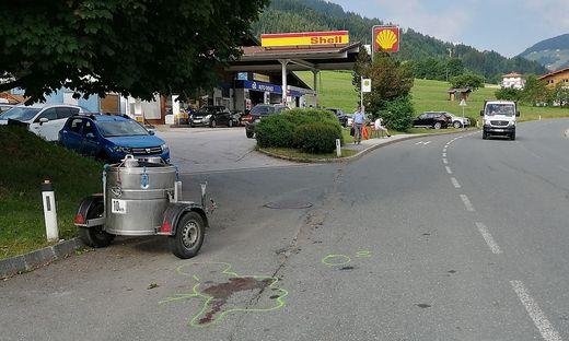 Bei dieser Tankstelle wurde der Kärntner damals verhaftet