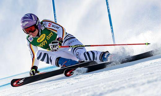 Ski alpin: Viktoria Rebensburg wiederholte in Sölden Sieg von 2010