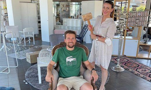 Wegen eines Umbaus kommt beim Ehepaar Bürger-Truppe vieles unter den Hammer