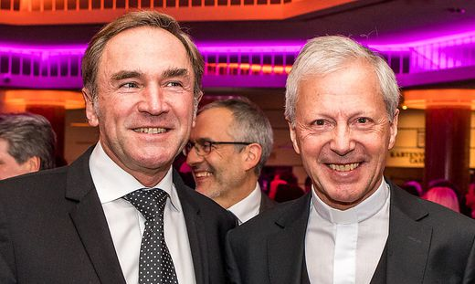 Manfred Sauer (links) und Engelbert Guggenberger