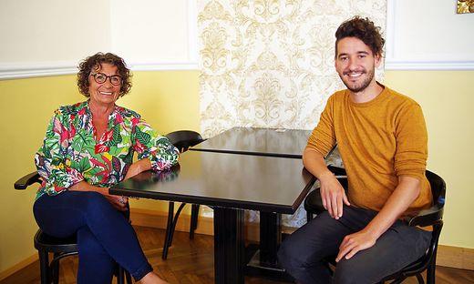 Die Grünen Ilse Schmalix und Georg Schwarzl: konstruktive Ansätze statt Panikmache