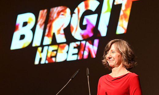Birgit Hebein - 82. LANDESVERSAMMLUNG DER WIENER GRÜNEN: HEBEIN