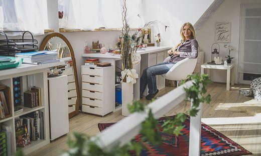 Cornelia Scala-Hausmann Homestory Liebenfels Maerz 2021