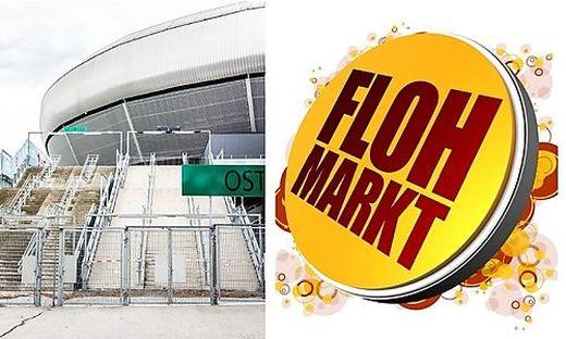 Erstmals findet beim Wörthersee Stadion ein Flohmarkt statt.