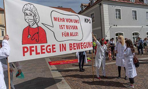 Pflege bewegte auch am 1. Mai in Graz