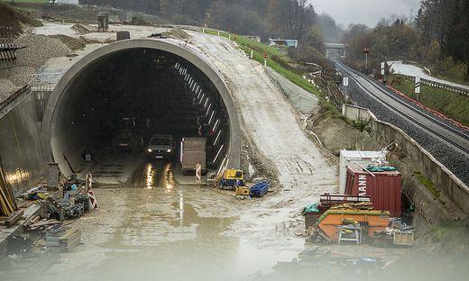 OeBB Infrastrukturprojekt Baustelle Koralmbahn Suedstrecke Wien-Villach November 2017