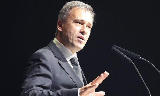 Vorstandschef Christian Jauk