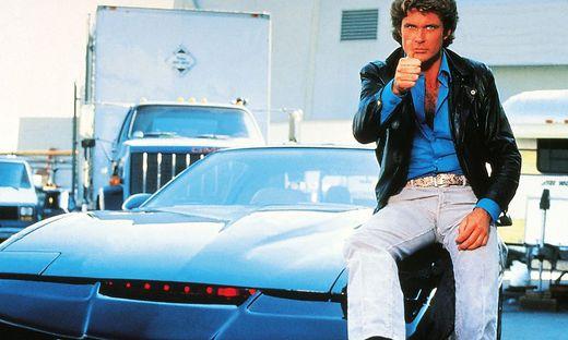 K.I.T.T., das legendäre sprechende Auto von Michael Knight (David Hasselhof) kommt nach Spittal