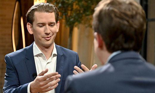Sebastian Kurz im ORF-Sommergespräch
