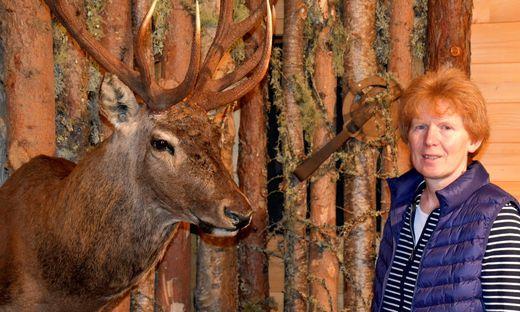 Elfriede Oberreiter zählt zum Team des Holzmuseums