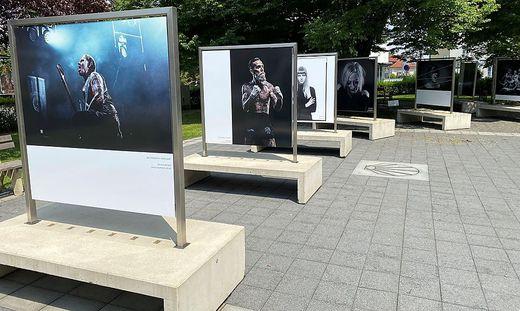 """Die Ausstellung """"Menschenbilder"""", hier zu Gast in Leibnitz, kommt am 16. September nach Bruck"""