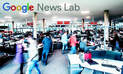 Der Newsroom der Kleinen Zeitung