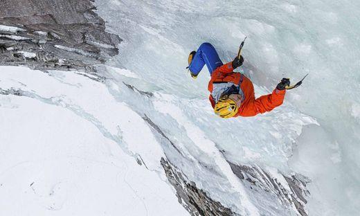 "Extremes Abenteuer: Alpinist Markus Pucher im Eisfall ""Mordor"""