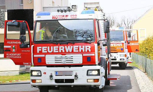 Die Feuerwehr löschte den Brand rasch