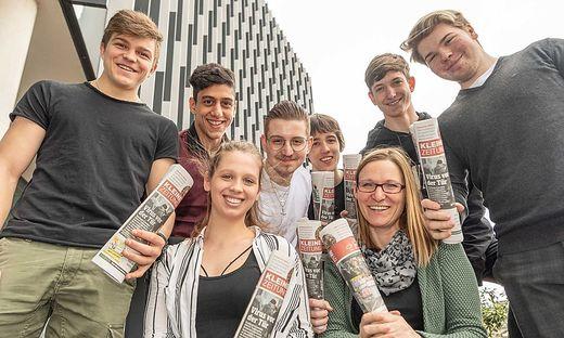 HTL Leoben Schüler machen Zeitung