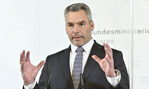 Innenminister Karl Nehammer (ÖVP)