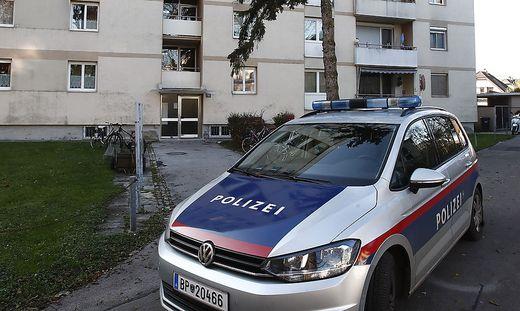 In einem Hochhaus in Klagenfurt ereignete sich die Bluttat