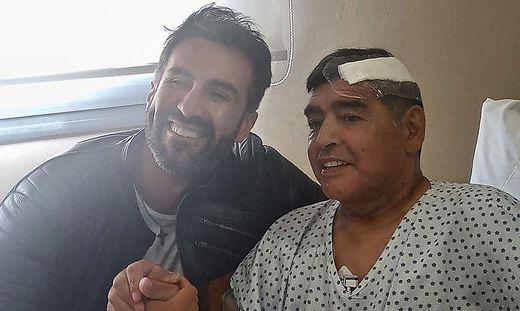 Leopoldo Luque, Diego Maradona