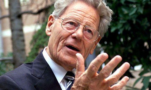 Der Der Theologe Hans Küng (1928–2021)
