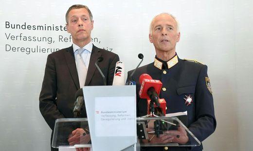 PK ZU HAUSDURCHSUCHUNGEN IN DER RECHTSRADIKALEN SZENE: PILNACEK / GOLDGRUBER
