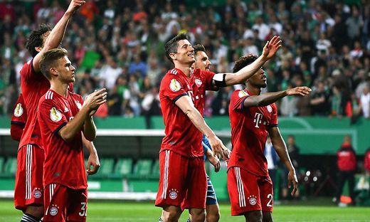 Der FC Bayern steht im Pokal-Finale