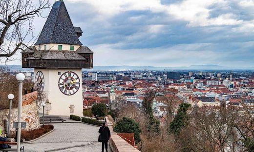 Graz hat häufig mit einer sogenannten Inversionswetterlage zu kämpfen
