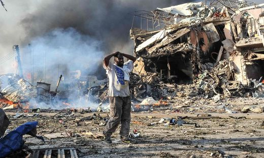 SOMALIA-BOMBING-AFP PICTURES OF THE YEAR 2017