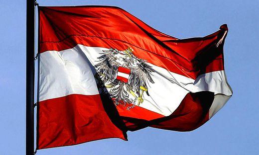 Die österreichische Fahne