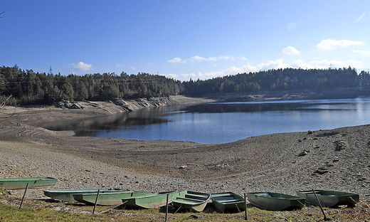 Der Wasserstand wird schrittweise um 22 Meter abgesenkt