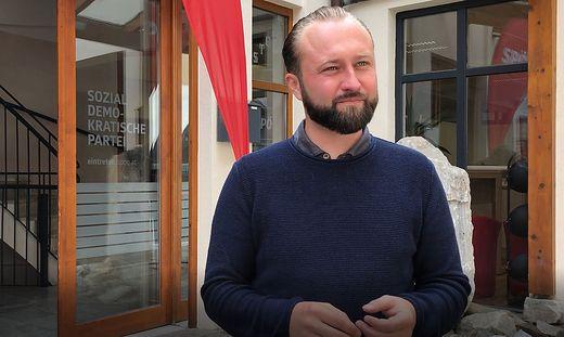 Max Lercher, SPÖ-Spitzenkandidat in der Obersteiermark