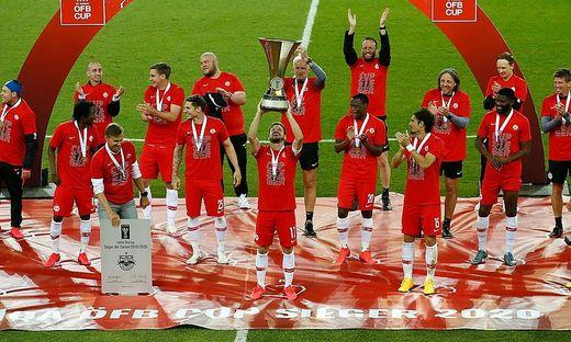 FUSSBALL: UNIQA OeFB CUP / FC RED BULL SALZBURG - SC AUSTRIA LUSTENAU