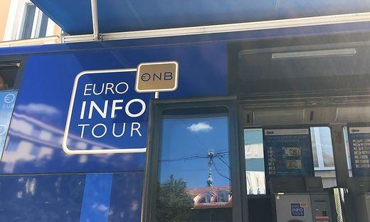 Der Euro-Bus