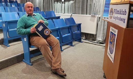 Filmklub-Obmann Günther Agath will sich nicht zurücklehnen