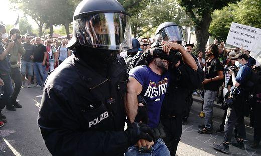 Protest gegen Corona-Massnahmen Berlin