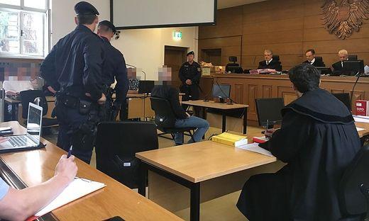 Prozess wegen versuchten Mordes