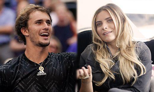 Alexander Zverev und Sophia Thomalla sind ein Paar