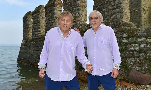 Bernd und Karl-Heinz Ulrich sind die Amigos
