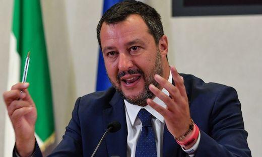 Innenminister Matteo Salvini von der Lega
