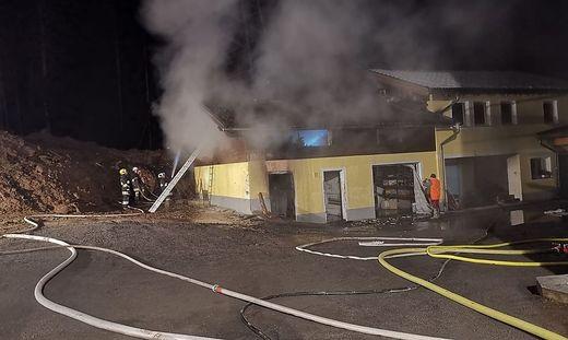 Drei Feuerwehren bekämpften den Brand