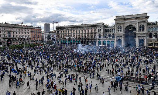 Inter-Mailand-Fans